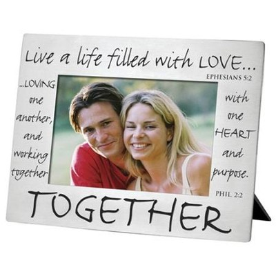 Together Silver Photo Frame  -