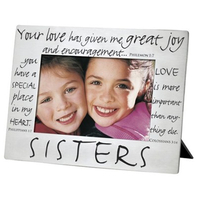 Sisters Silver Photo Frame  -