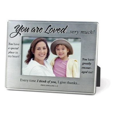 You Are Loved--Photo Frame   -