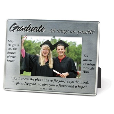 Graduate, More Than Words Photo Frame  -