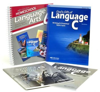 Abeka Grade 6 Homeschool Parent Language Arts Kit  -