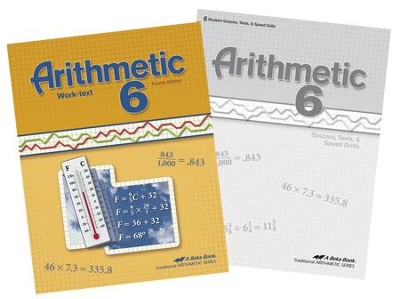 Abeka Grade 6 Homeschool Child Arithmetic Kit  -