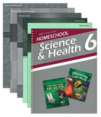 Abeka Grade 6 Homeschool Parent Science/Health Kit  -