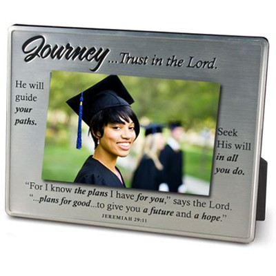 Journey... Trust in the Lord, Jeremiah 29:11, Photo Frame    -