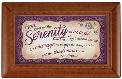 Serenity Prayer Small Frame  -