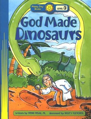 Happy Day Books, Level 3: God Made Dinosaurs   -