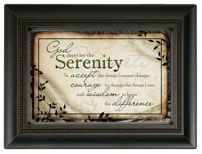 Serenity Prayer Large Frame  -