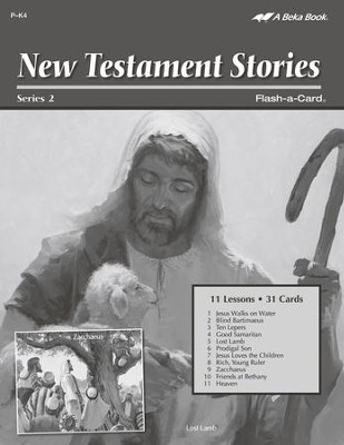 New Testament Stories 2 Lesson Guide   -