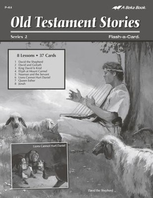 Old Testament Stories 2 Lesson Guide   -