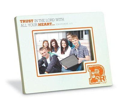 Trust in the Lord Photo Frame  -