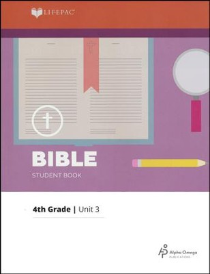 Lifepac Bible Grade 4 Unit 3: Saul Begins To Live For God   -