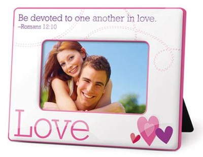 Love Photo Frame, Romans 12:10  -