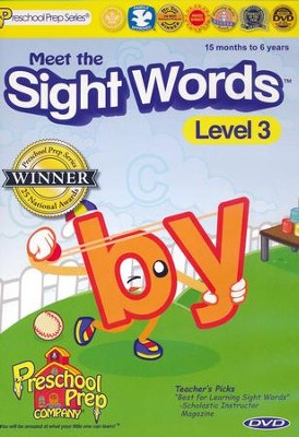 Meet the Sight Words 3 DVD   -