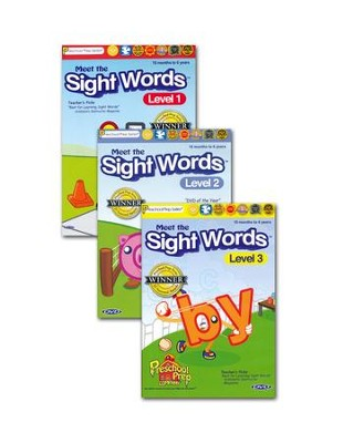 Sight Words 3-DVD Pack   -