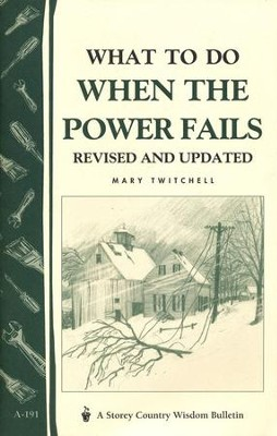 What to Do When the Power Fails (A-191)   -