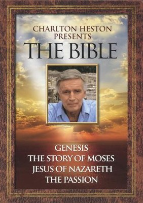Charlton Heston Presents The Bible, 4-DVD Set   -