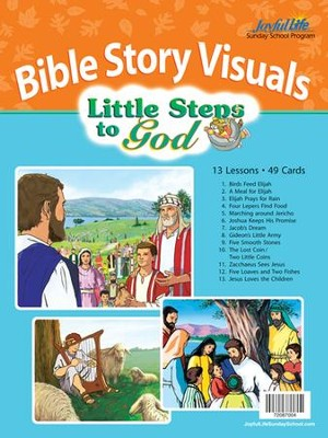 Little Steps to God (ages 2 & 3) Bible Visuals   -