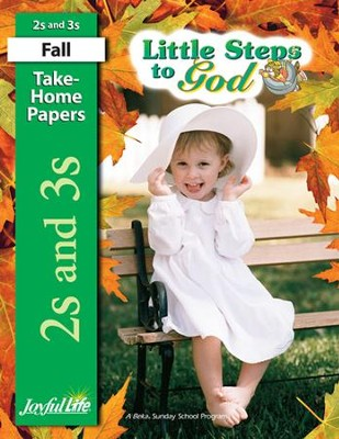 Little Steps to God (ages 2 & 3) Take-Home Papers   -