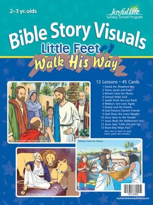Little Feet Walk His Way (ages 2 & 3) Bible Visuals   -