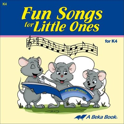 Abeka Fun Songs for Little Ones K4 Audio CD   -