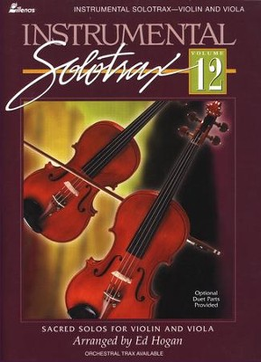 Instrumental Solo Trax, Volume 12 (Violin and Viola)   -