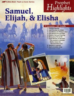 Abeka Prophet Highlights Flash-a-Card Set   -