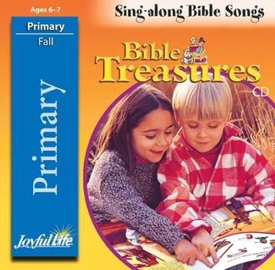 Bible Treasures Primary (Grades 1-2) Audio CD   -