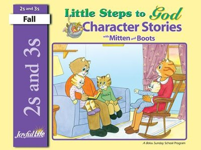 Little Steps to God (ages 2 & 3) Character Stories   -