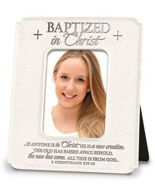 Baptized In Christ Photo Frame  -