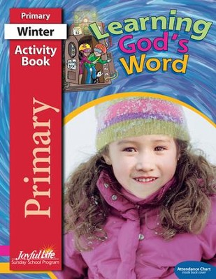 Learning God's Word Primary (Grades 1-2) Activity Book   -