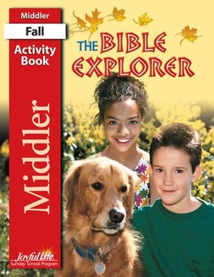 Bible Explorer Middler (Grades 3-4) Activity Book   -