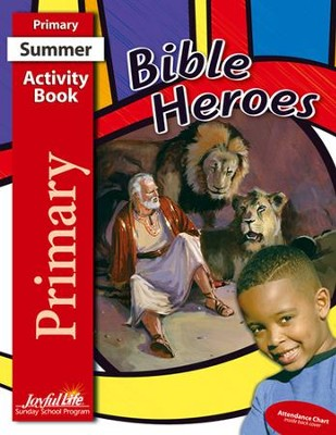 Bible Heroes Primary (Grades 1-2) Activity Book   -