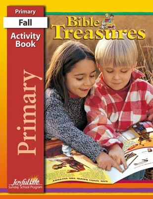 Bible Treasures Primary (Grades 1-2) Activity Book   -