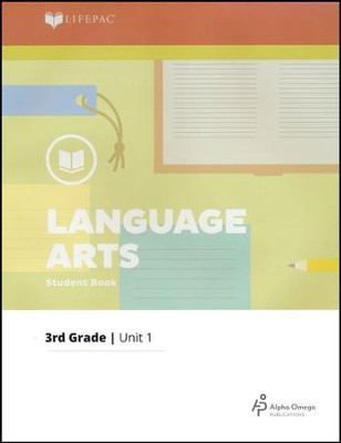 Lifepac Language Arts Grade 3 Unit 1: Old and New Skills   -