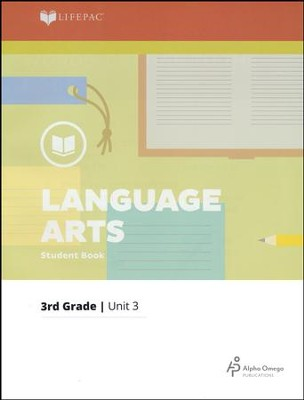 Lifepac Language Arts Grade 3 Unit 3: Words--Getting To The Roots   -