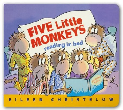 Five Little Monkeys Reading in Bed  -     By: Eileen Christelow