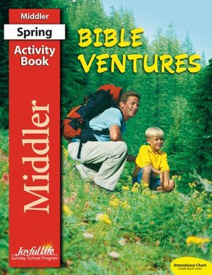 Bible Ventures Middler (grades 3-4) Activity Book  (Spring Quarter)  -