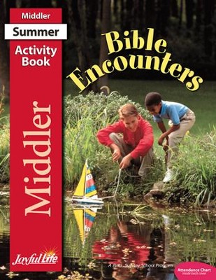 Bible Encounters Middler (Grades 3-4) Activity Book   -