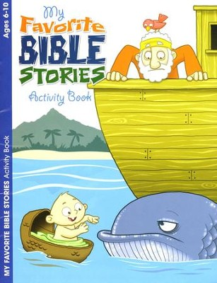 My Favorite Bible Stories, Ages 6-10 Activity Book  -