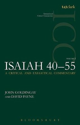 Isaiah 40-55, Vol 1: International Critical Commentary [ICC]   -     By: John Goldingay