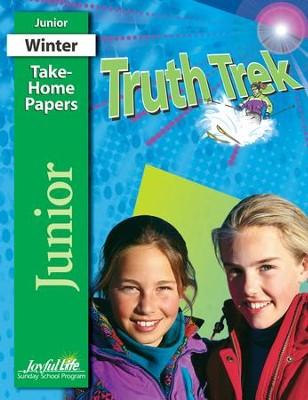 Truth Trek Junior (Grades 5-6) Take-Home Papers   -