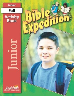 Bible Expedition Junior (Grades 5-6) Activity Book   -