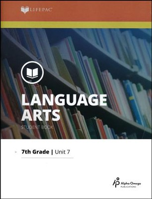 Lifepac Language Arts Grade 7 Unit 7: The Novel, The Hiding Place   -