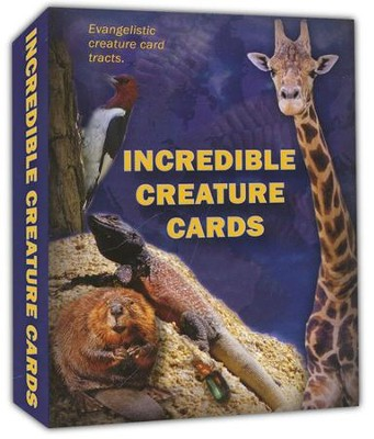 Incredible Creature Cards   -     By: Dr. Jobe Martin