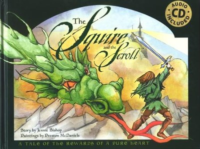 The Squire & the Scroll with Audio CD  -     By: Jennie Bishop