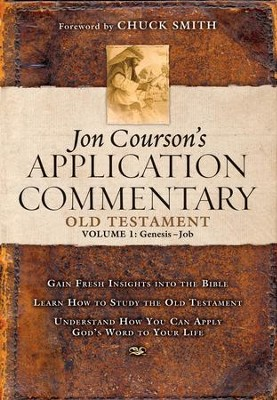 Courson's Application Commentary, Old Testament Volume 1 (Genesis-Job): Volume 1, Old Testament, (Genesis-Job) - eBook  -     By: Jon Courson