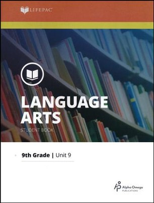 Lifepac Language Grade 9 Unit 9: Studies in the Novel   -