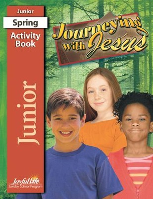 Journeying with Jesus Junior (Grades 5-6) Activity Book   -