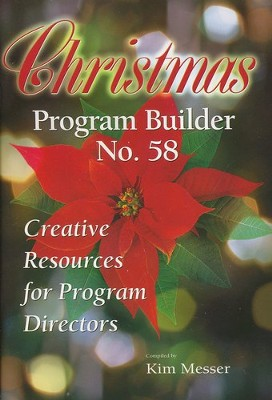 Christmas Program Builder No. 58  -