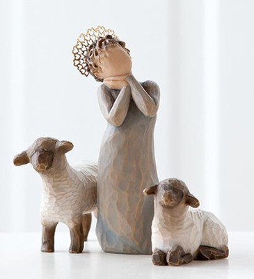 Willow Tree &#174 Nativity, Little Shepherdess  -     By: Susan Lordi
